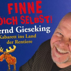 Vorverkauf gestartet: Kaberettist Bernd Gieseking kommt in die Hallenberger Stadthalle