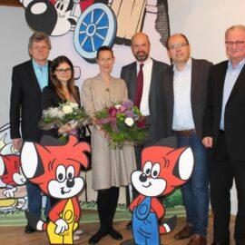 Fix und Foxi sind in Hallenberg angekommen
